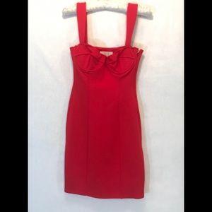 NWT Capulet Red Mini Dress Side Zip